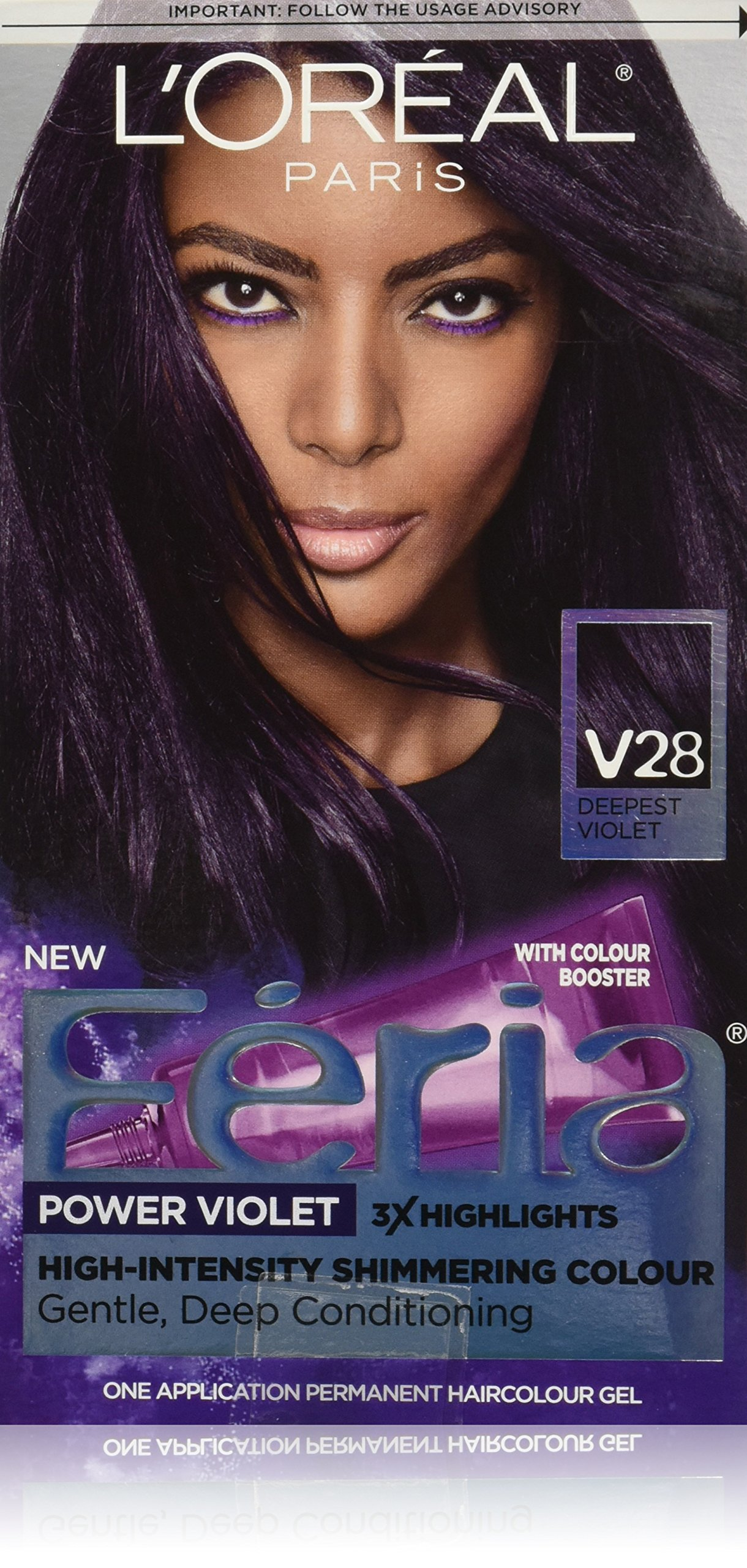 Loreal Hair Color Feria L Oreal Feria Multi Faceted Dark