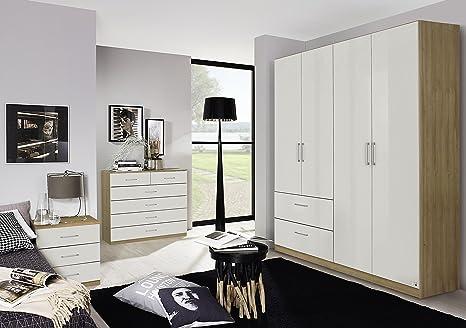 Camera Da Letto Grigio Rovere : Germanicatm bonn mobili per camera da letto a ante con cassetti