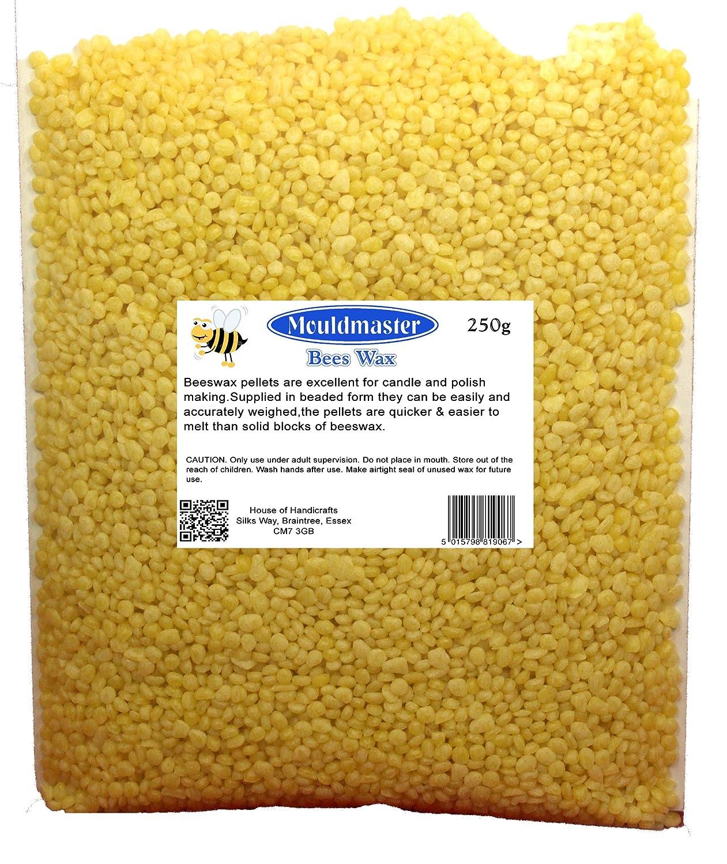 Mouldmaster - Cera d'api, 250 g, colore: Giallo oro House Of Handicrafts 5015798025024