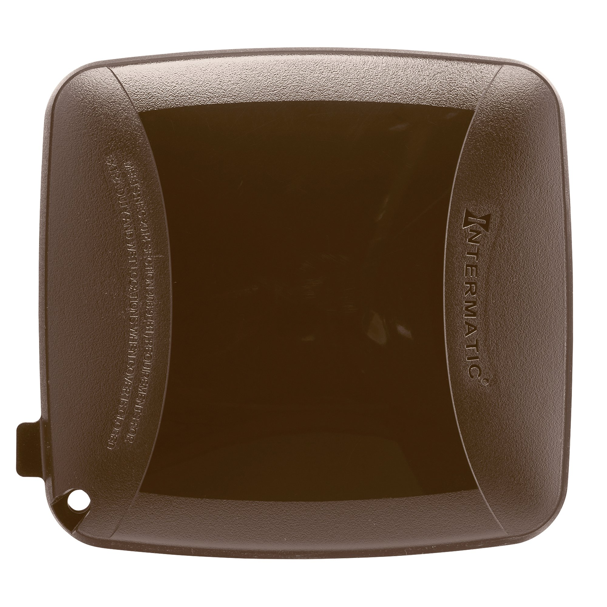 Intermatic WP5225BR Extra Duty Plastic Weatherproof Cover, 2.75-Inch Double Gang, Bronze by Intermatic