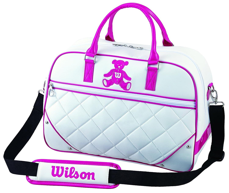 Wilson(ウイルソン) ボストンバッグ WilsonBEAR ボストンバッグ レディース BEAR-111 B074PR26SJ ホワイト