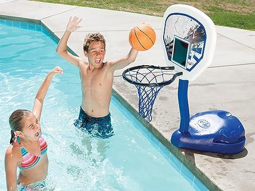 SwimWays Poolside Basketball Hoop