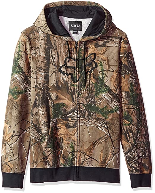 Fox Men's Realtree Allover Print Zip Fleece