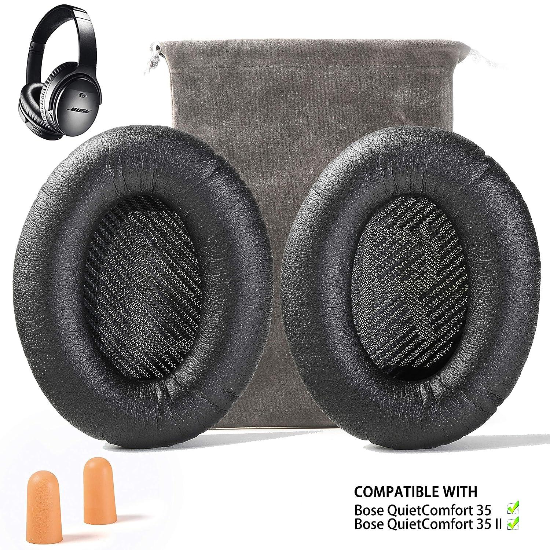 almohadillas reemplazo Bose quietcomfort 35 ii, 35