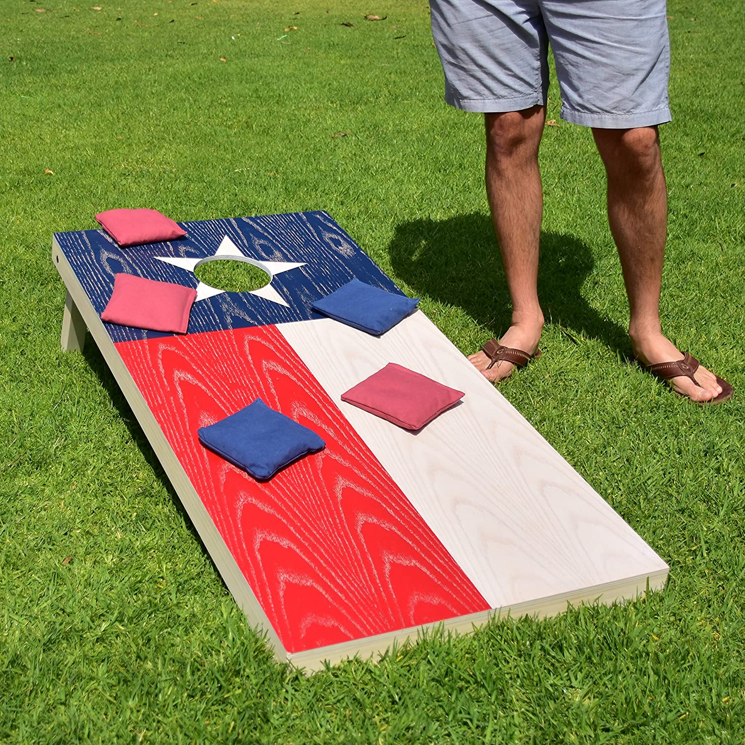 Regulation Size Solid Wood Cornhole Set
