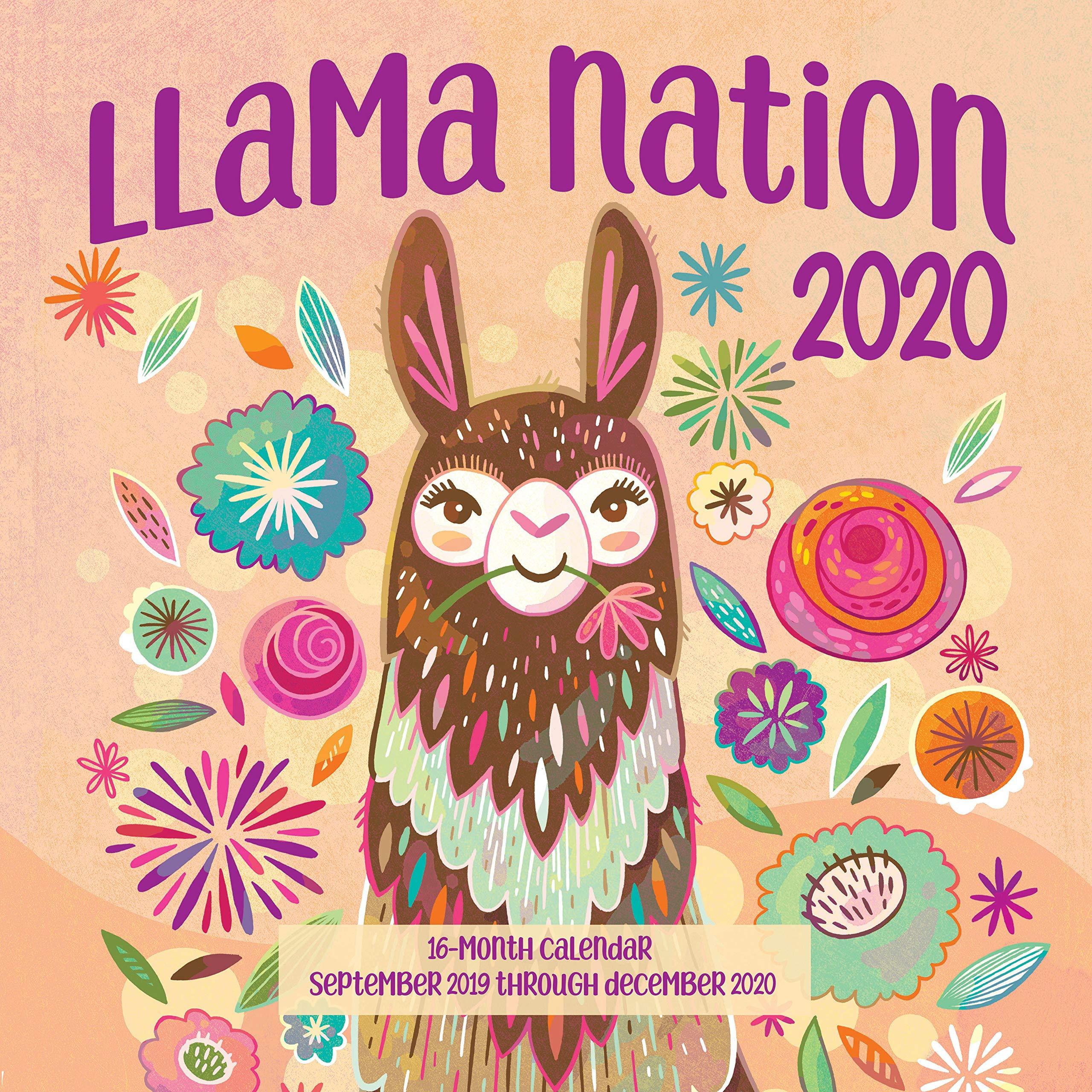 New York Movie Premiere December 2020 Calendar Llama Nation 2020: 16 Month Calendar September 2019 Through
