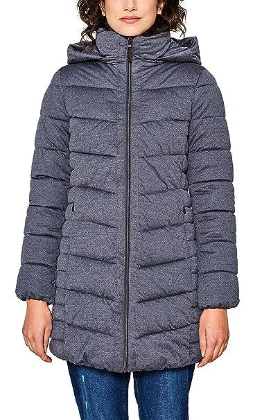 Esprit 018ee1g008, Abrigo para Mujer, Gris (Grey 030), Small: Amazon.es: Ropa y accesorios