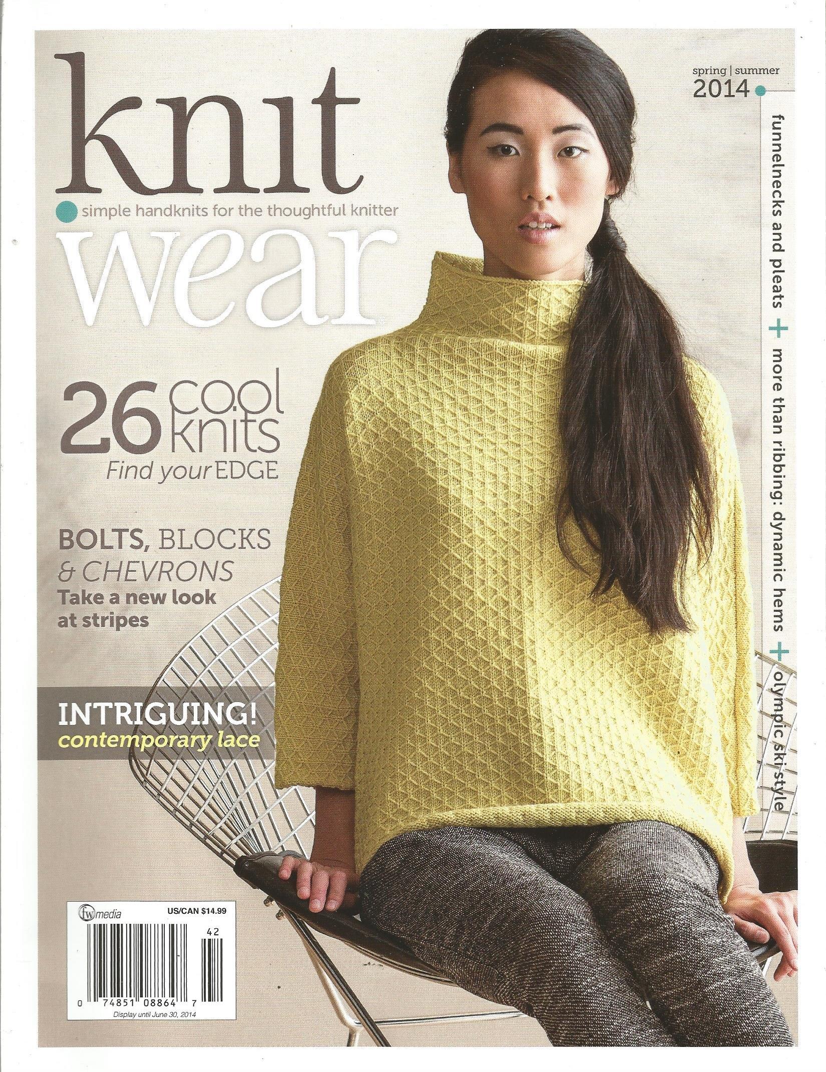 Knit Wear Magazine (26 Cool Knits,Summer 2014) pdf epub