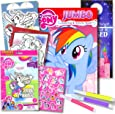 My Little Pony Colouring Book with Take-N-Play Set 96-page Pinkie Pie Colouring Book, My Little Pony Stickers, Markers, & Bonus Sticker
