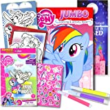 My Little Pony Colouring Book with Take-N-Play Set 96-page Pinkie Pie Colouring Book, My Little Pony Stickers, Markers…