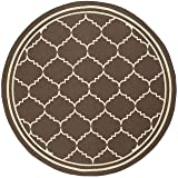 Safavieh Courtyard Collection CY6889-204 Chocolate