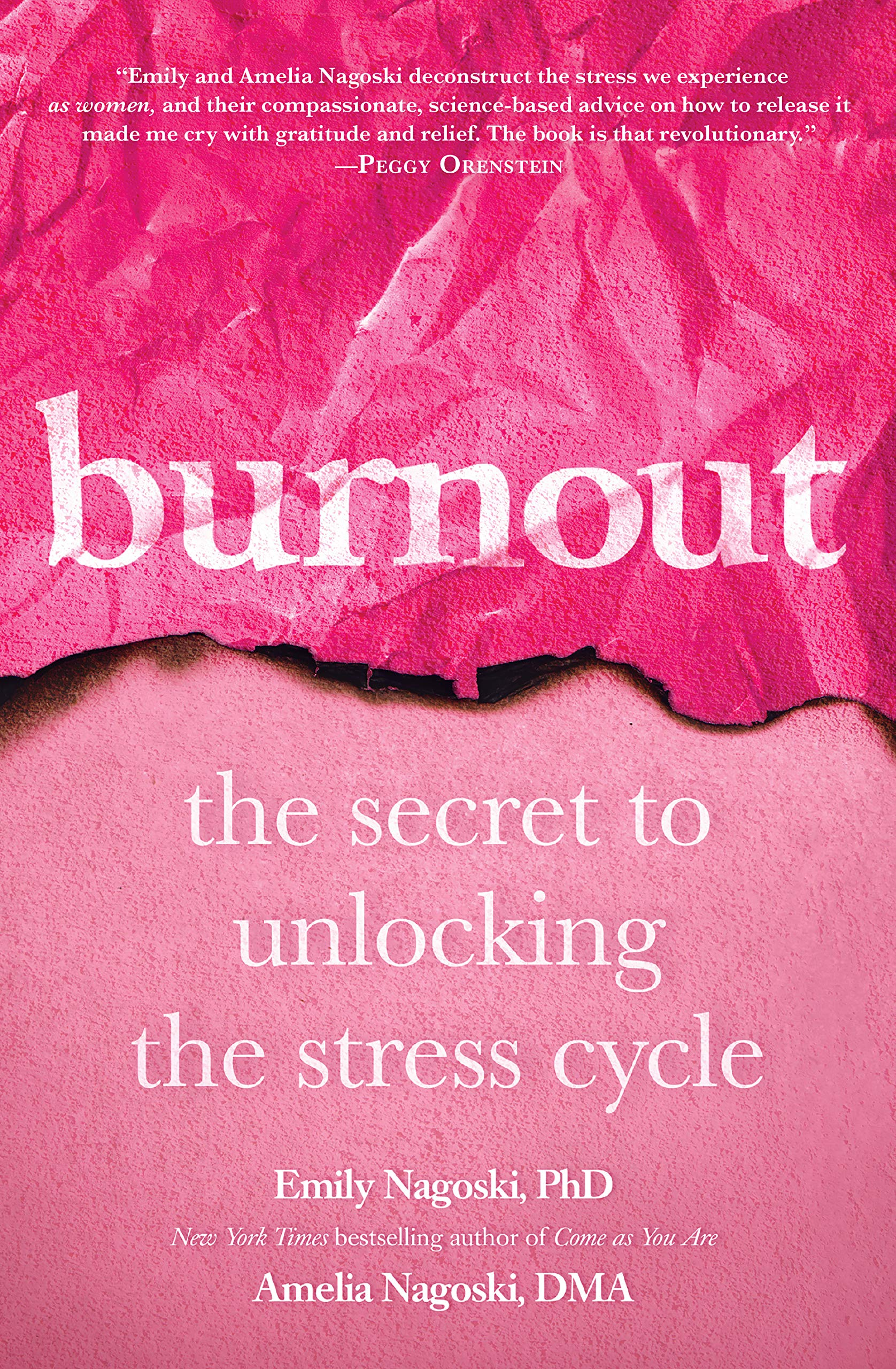 Image result for Burnout: the secret to unlocking the stress cycle
