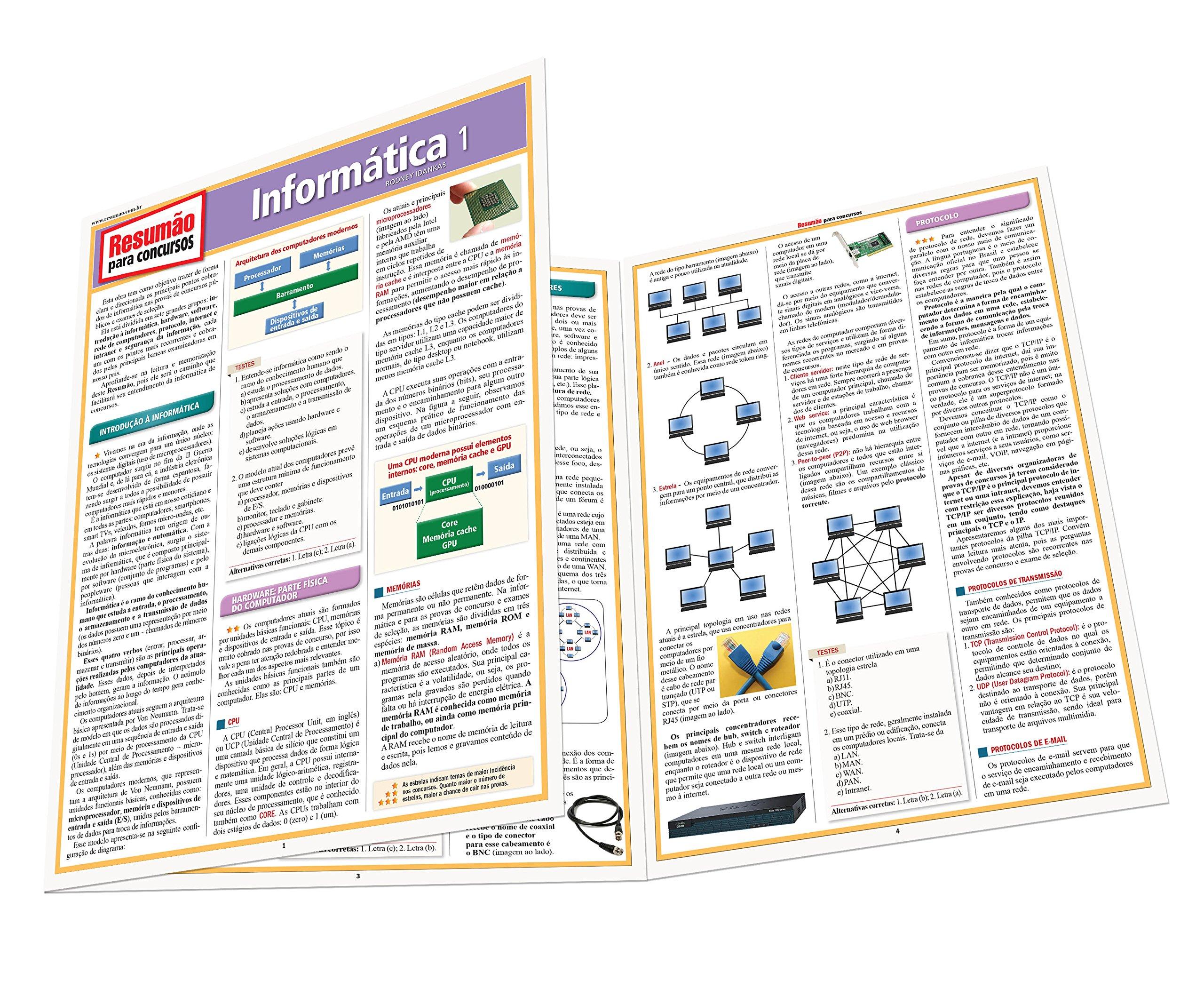 Concursos Informática 1: Rodney Idankas: 9788577113156: Amazon.com: Books