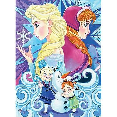 Ceaco Disney Friends Frozen Jigsaw Puzzle, 200 Pieces: Toys & Games