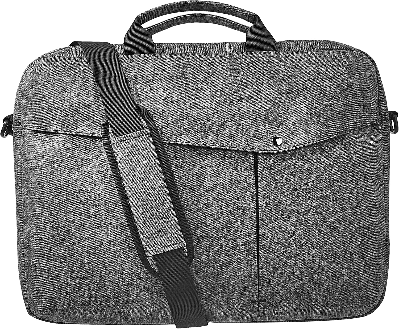 AmazonBasics Business Laptop Case - 17-Inch, Grey