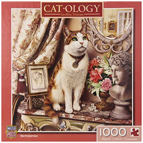 Amazon.com: MasterPieces Cat-O-Logy Bartholomew Jigsaw Puzzle, 1000-Piece: Toys & Games