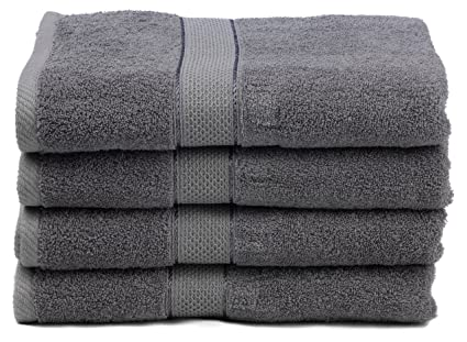 Ariv Collection Premium Bamboo Cotton Bath Towels   Natural, Ultra  Absorbent And Eco Friendly