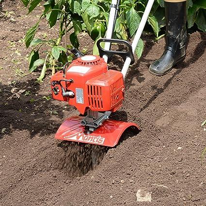 Mantis 6222 Power Tiller Furrower Tines for Gardening Renewed
