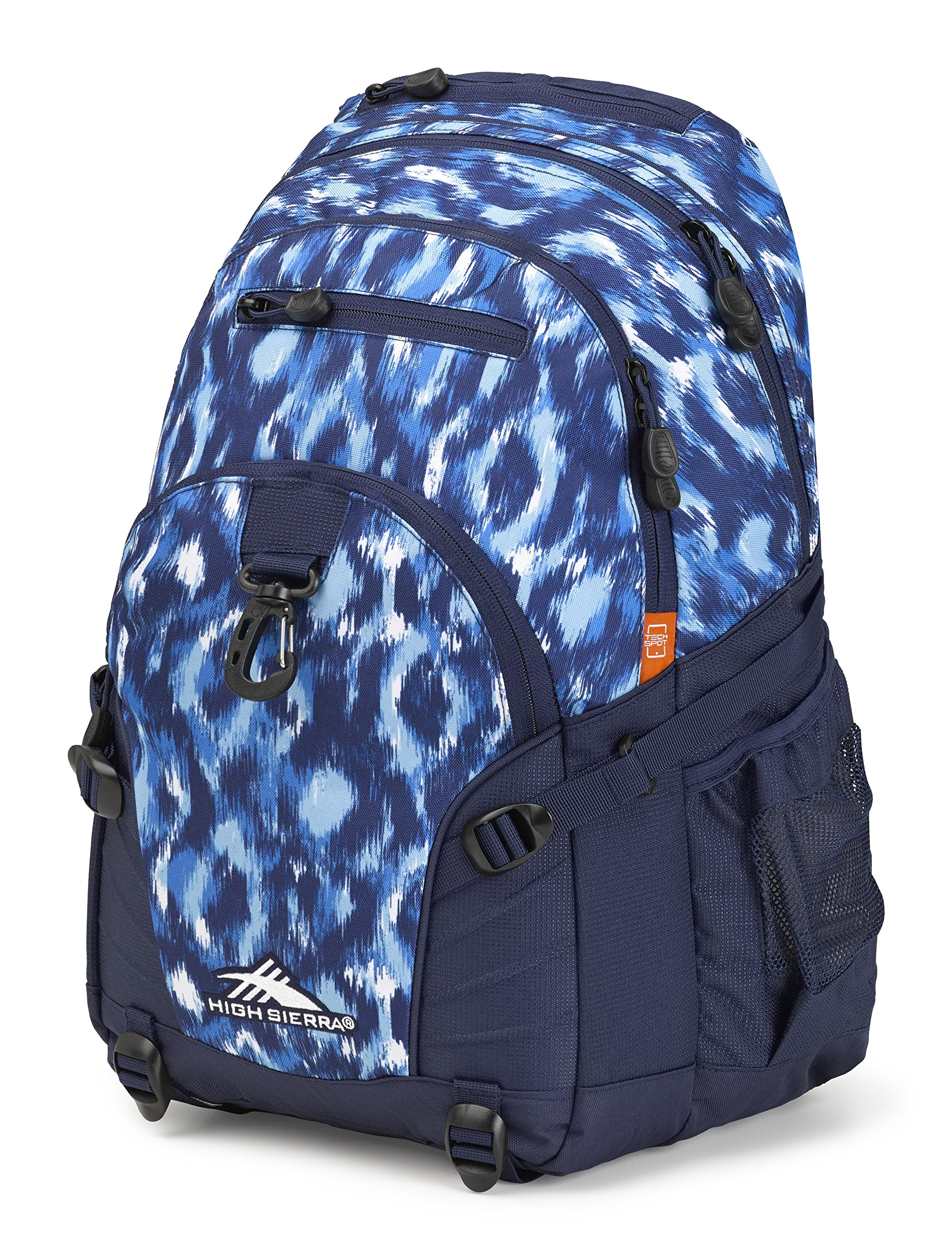 High Sierra Loop Backpack, Island Ikat/True Navy