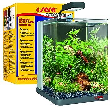 Cube Beleuchtung | Sera 31066 Biotop Nano Led Cube 16 Ein 16 L Susswasser Nano
