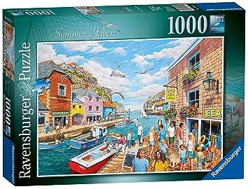 Ravensburger Summer Haven, Puzzle de 1000 Piezas: Amazon.es ...