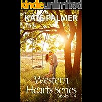 Western Hearts Series Books 1-4: Snowed Inn, Storm, Olivia, Alexis