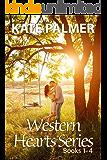 Western Hearts Series Books 1-4: Snowed Inn, Storm, Olivia, Alexis (English Edition)