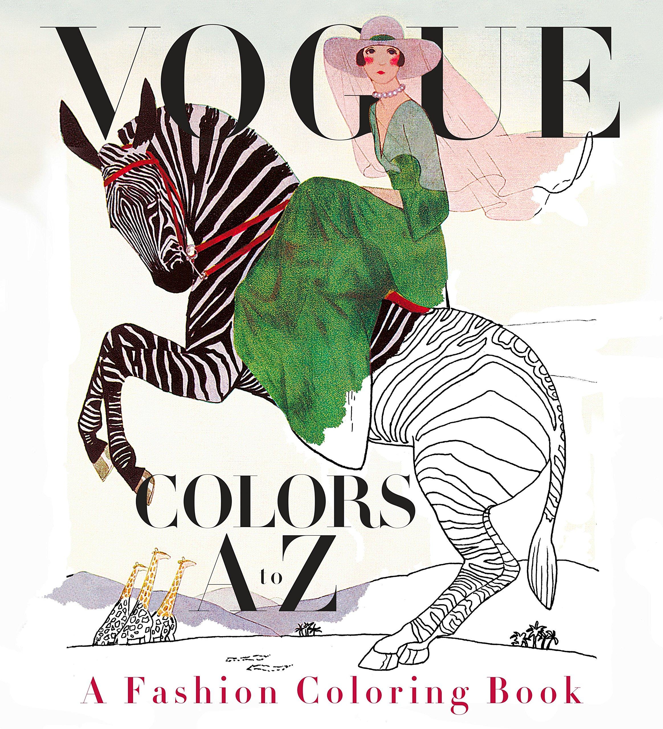 Amazon.com: Vogue Colors A to Z: A Fashion Coloring Book ...