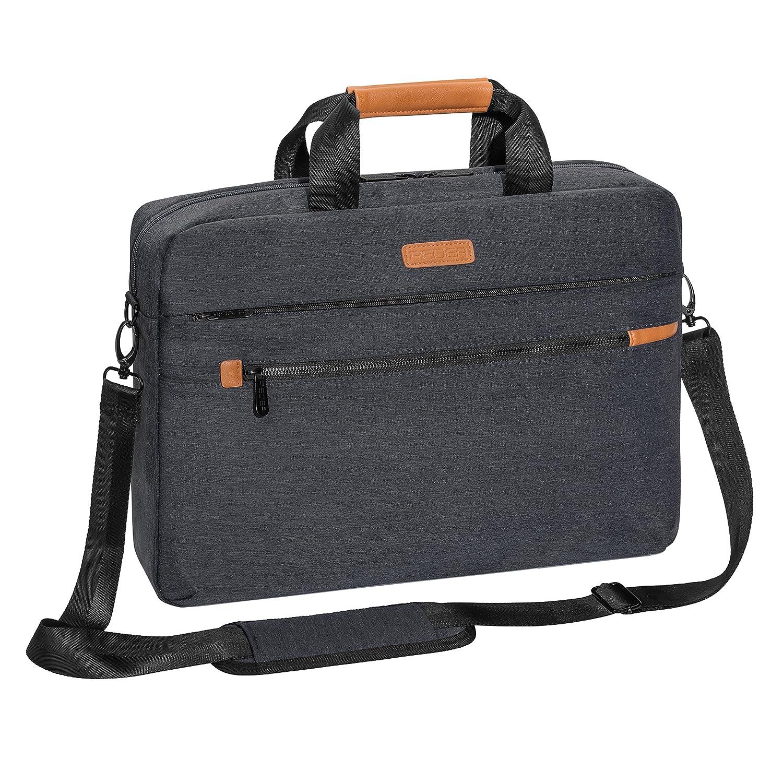 PEDEA Laptoptasche 'Elegance Pro' Umhä ngetasche Schultertasche Messenger Tasche fü r Notebooks bis 17,3 Zoll (43,9cm) inkl. Tablet-PC Fach bis 10,1 Zoll (25,9cm), grau PEDEA GmbH 66066440