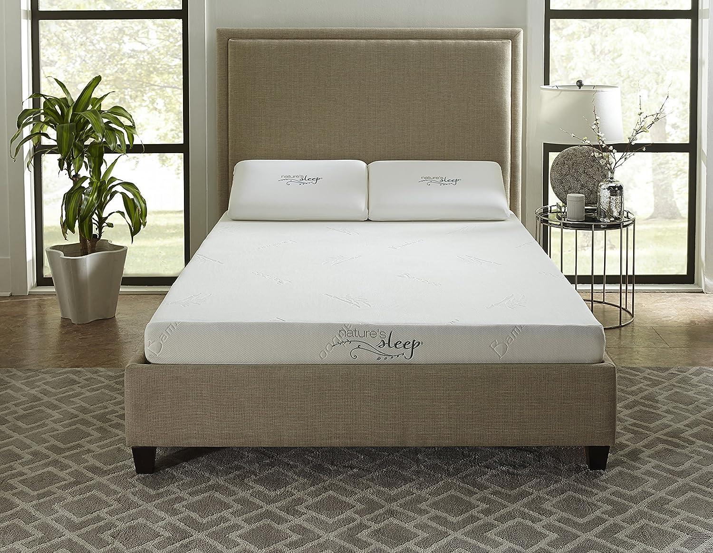 Nature s Sleep 6 Gel Memory Foam Mattress, Twin