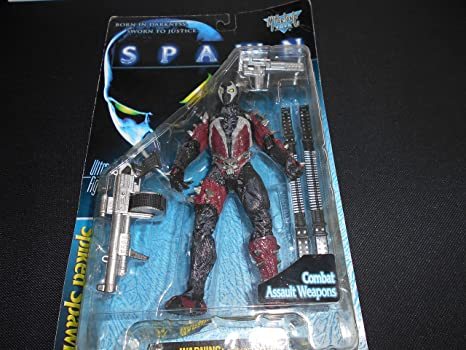 McFarlane Toys Spawn The Movie Ultra-Action Figure w//Combat Assult Weapons