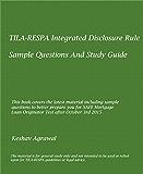 """TILA-RESPA INTEGRATED DISCLOSURE (""""TRID""""): TILA-RESPA INTEGRATED DISCLOSURE (""""TRID"""") -STUDY GUIDE, AND SAMPLE QUESTIONS"""