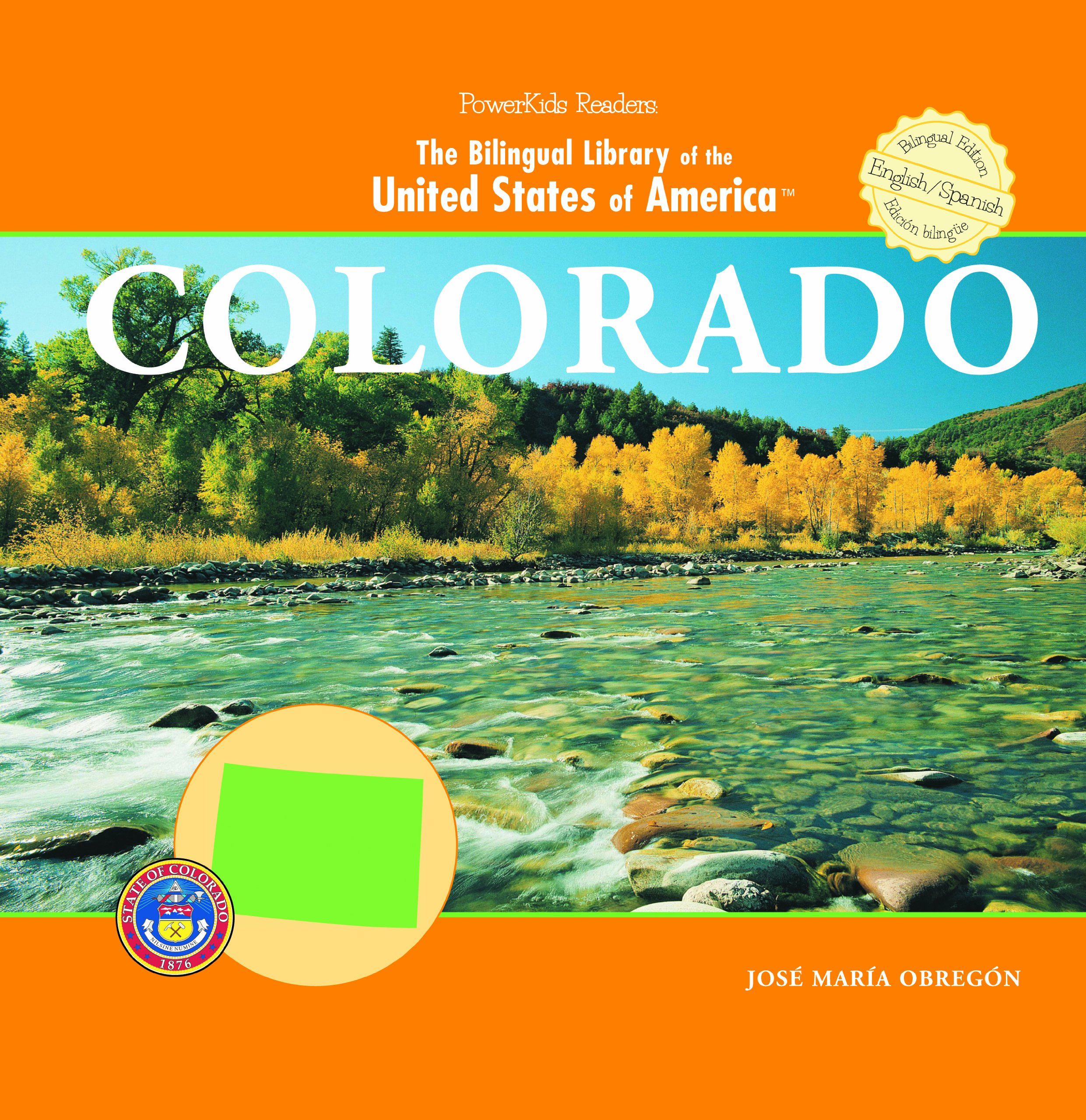 Download Colorado (Powerkids Readers: Bilingual Library of the United States of America) (English and Spanish Edition) ebook