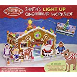 Crafty Cooking Kits Rudolph Santa's Light Up Workshop, Gingerbread, 22 Ounce