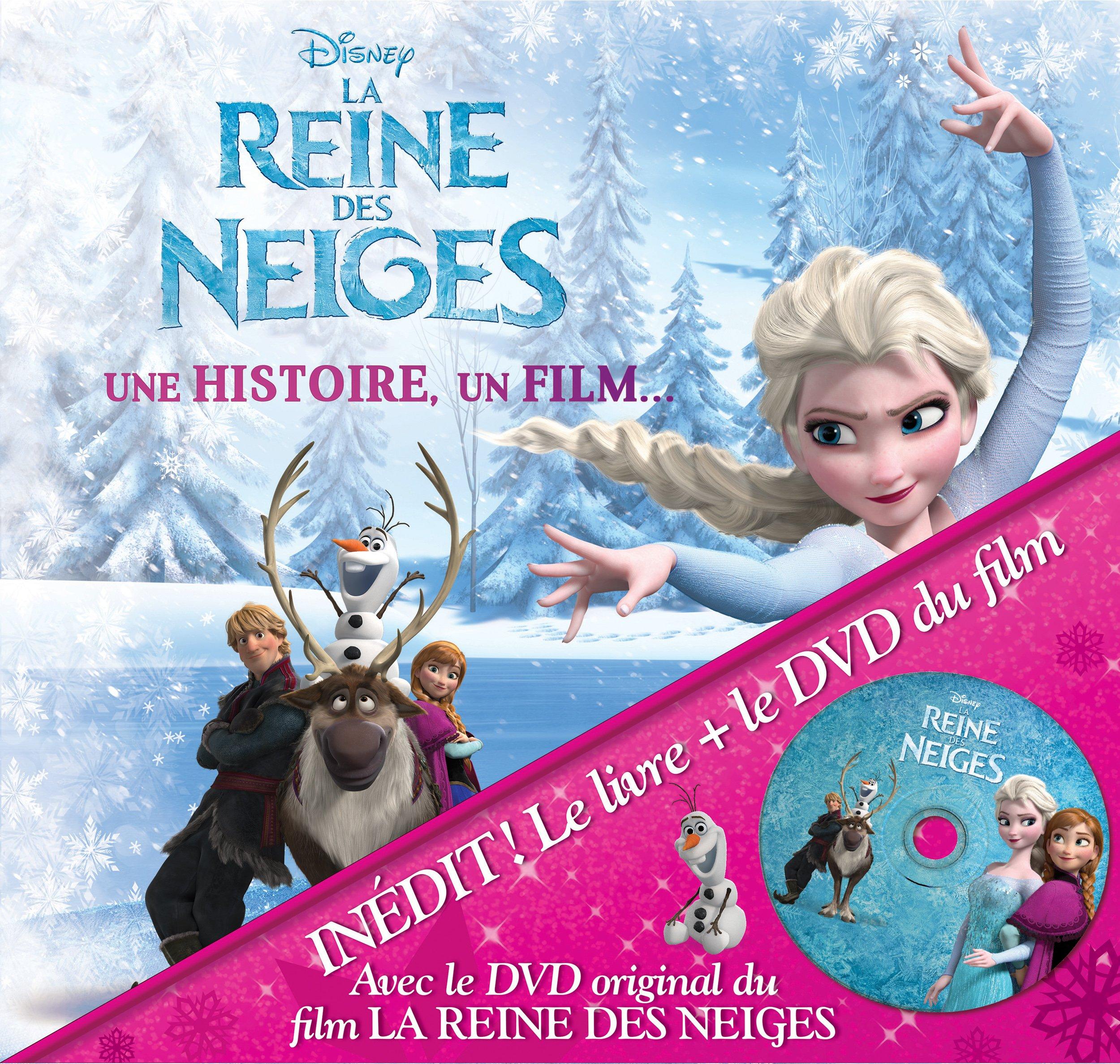 La reine des neiges : une histoire, un film. (1DVD)
