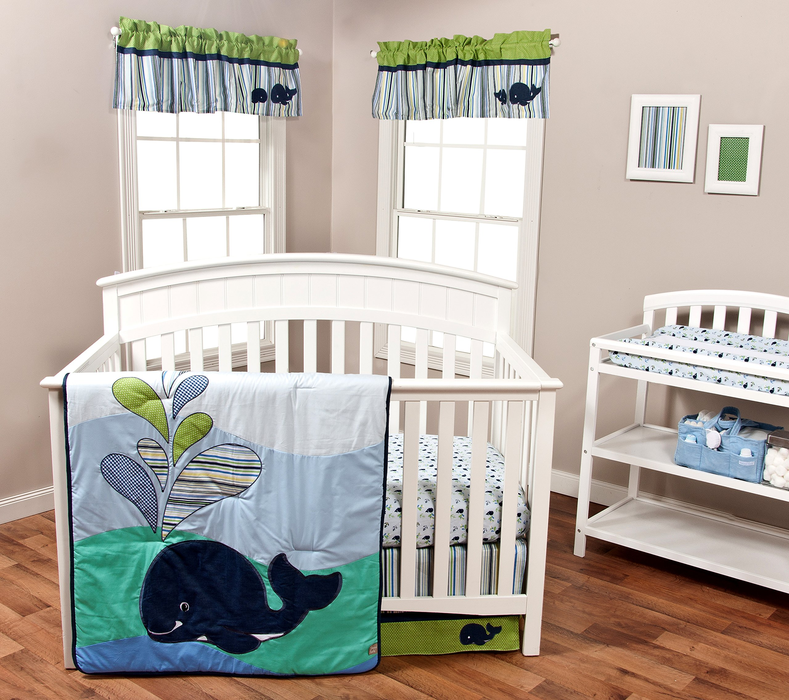 trend lab anchors away window valance baby. Black Bedroom Furniture Sets. Home Design Ideas