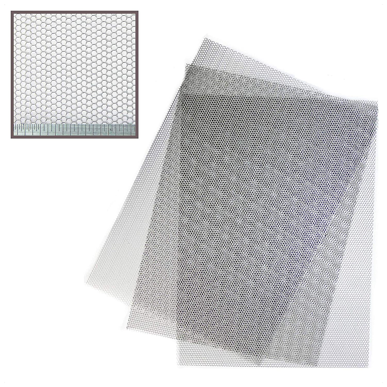 sourcingmap 8pcs 40 x 100mm Plastic Rectangle Ribbed Tube Inserts End Cover Cap Floor Protector