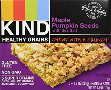 KIND, Healthy Grains Granola Bars, Maple Pumpkin Seed with Sea ...