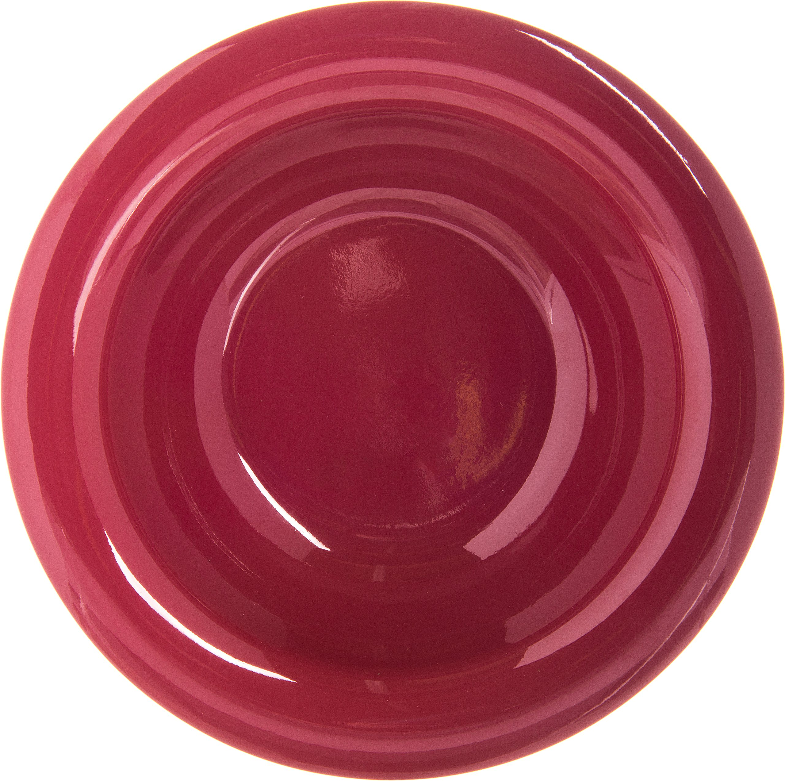 Carlisle 4304258 Durus Rimmed Melamine Fruit Bowl, 4 Oz., Roma Red (Pack of 48) by Carlisle (Image #3)