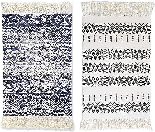 Woven Cotton Area Rug