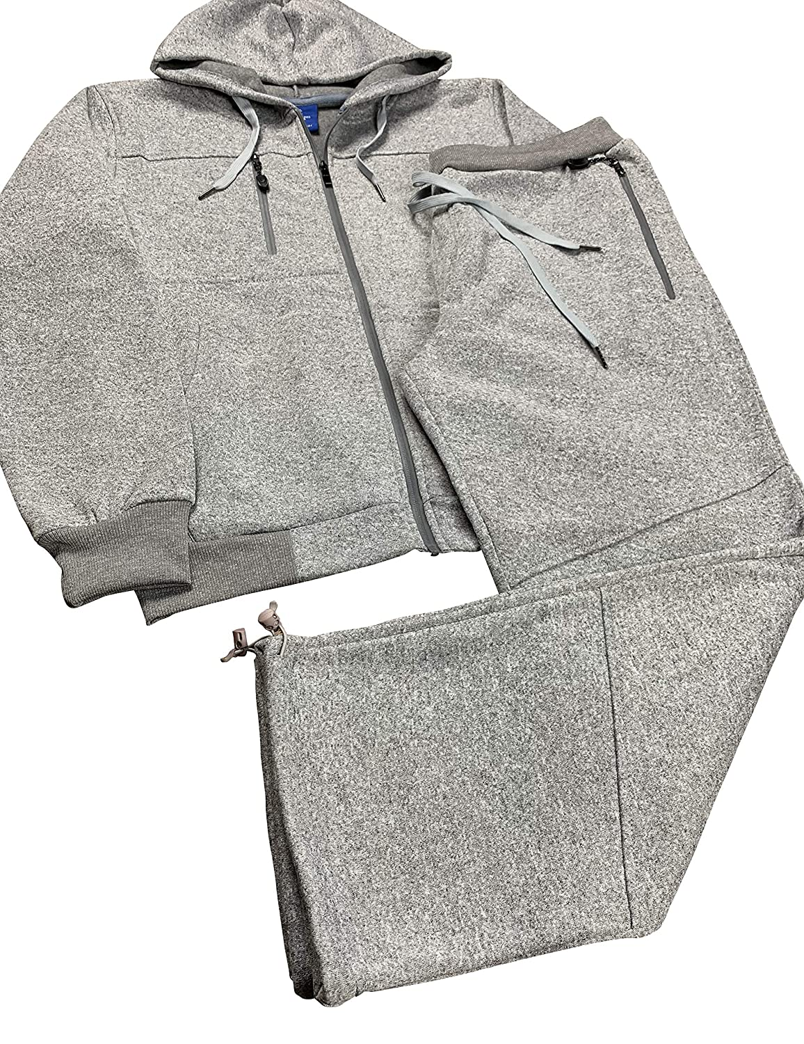 Royal Threads Canada Men/'s Tech Fleece Sweat Pants and Sweat Jacket Winter Suit