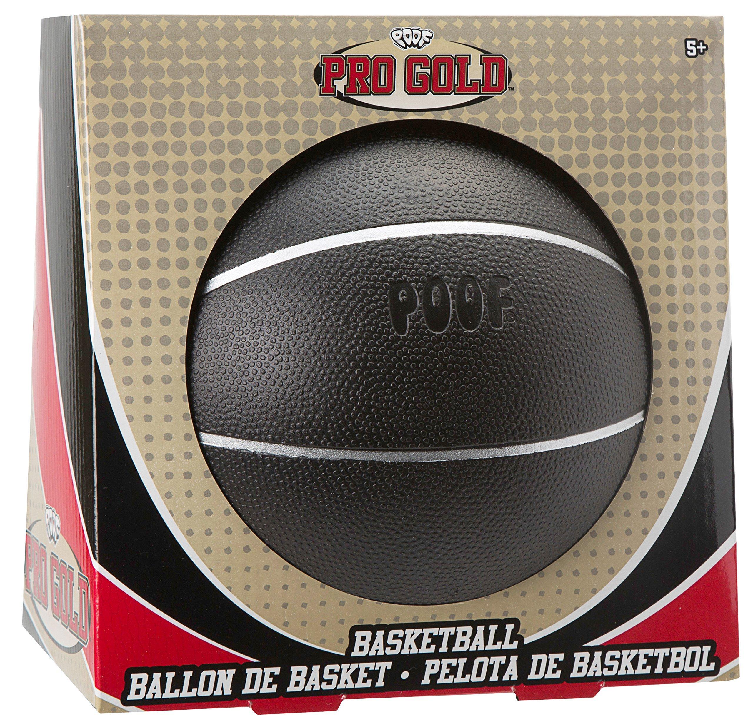 POOF Pro Gold Black Basketball
