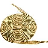 "Shoeslulu 20-50"" Premium Flat Waxed Cotton Bootlaces Shoelaces"