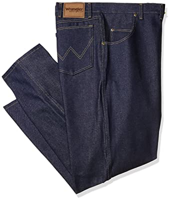 e0ee2589 Amazon.com: Wrangler Men's Big-Tall Big and Tall Rigid Rugged Wear Relaxed  Fit Jean: Clothing