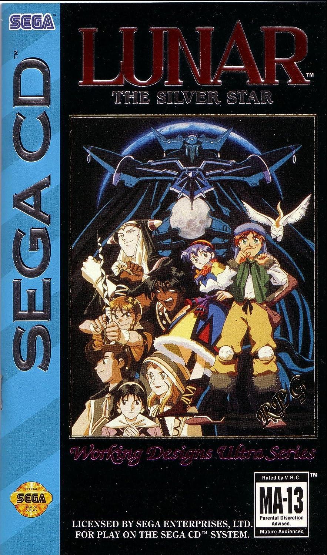 best SEGA CD games - lunar the silver star sega CD game case