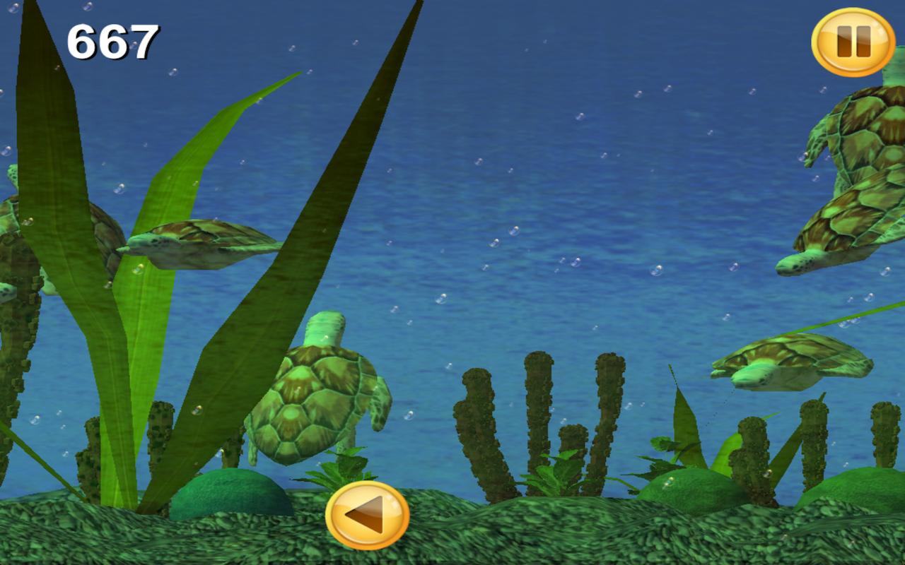 Sea Turtle Aquarium 3D [Download]