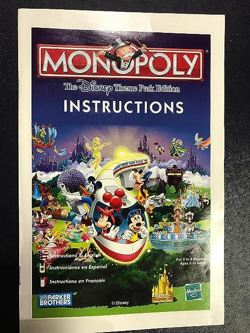 Monopoly The Theme Park Edition: Amazon.es: Juguetes y juegos