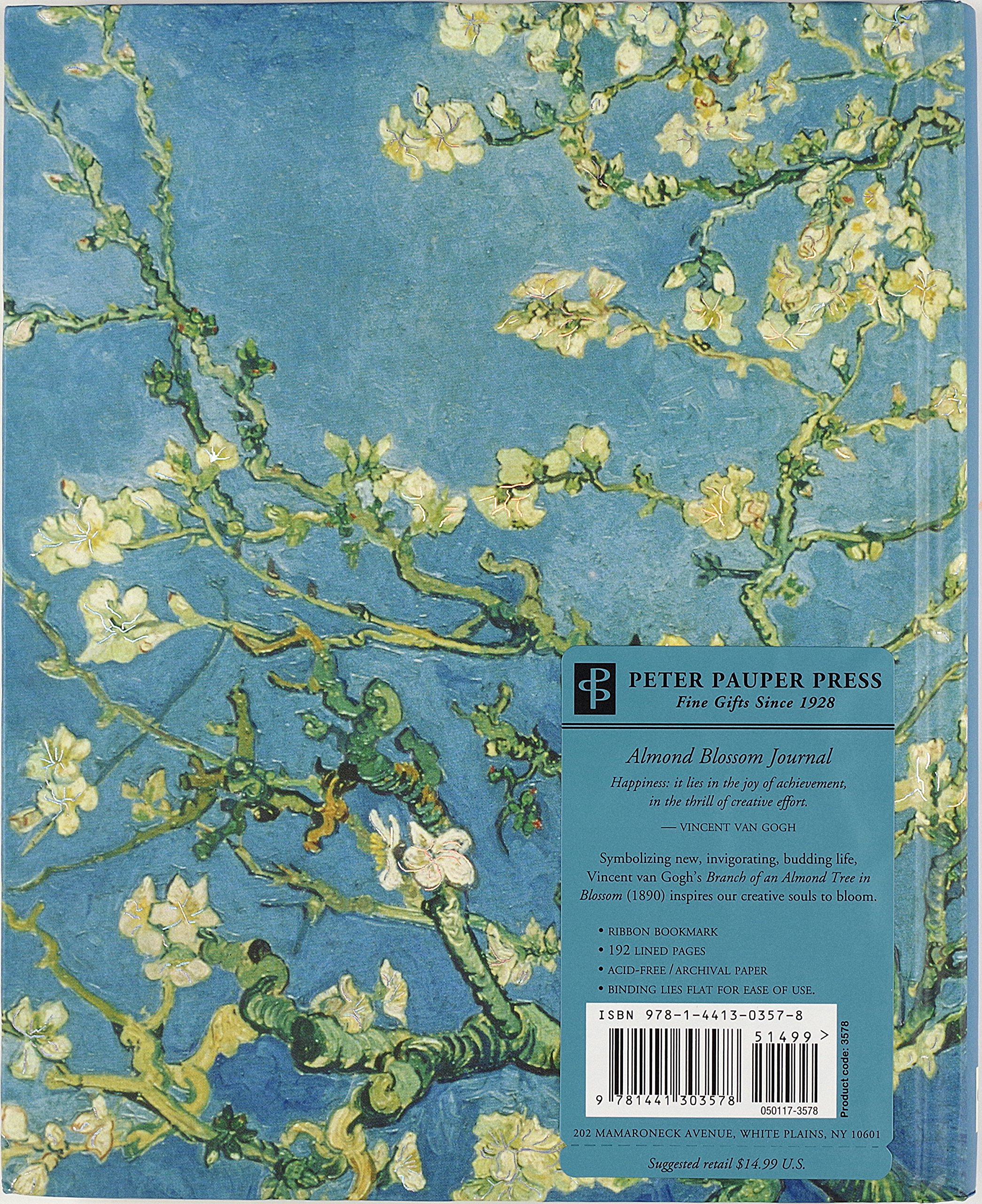 Almond Blossom Journal Notebook Diary Peter Pauper Press