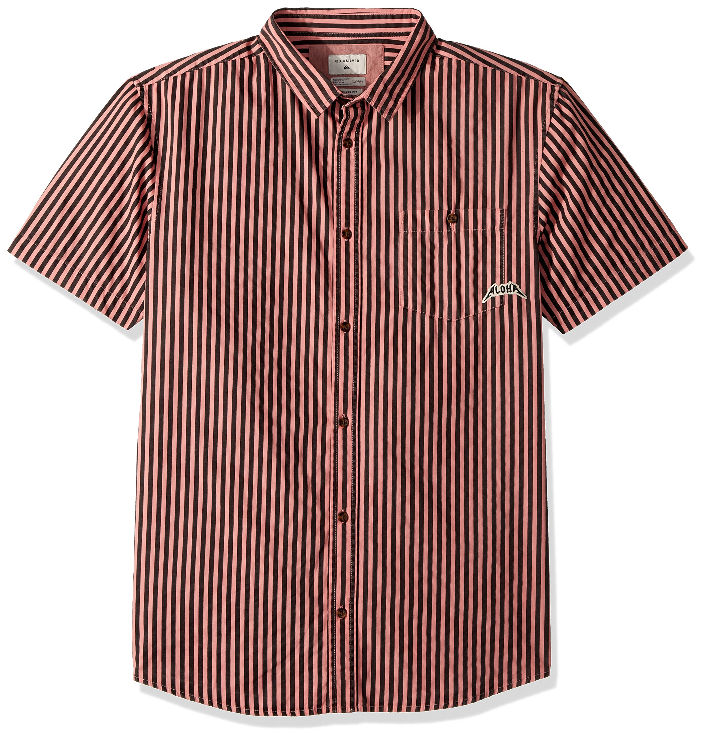 Quiksilver Men's Bro Stripe, Mineral Red Goofy Bro, M