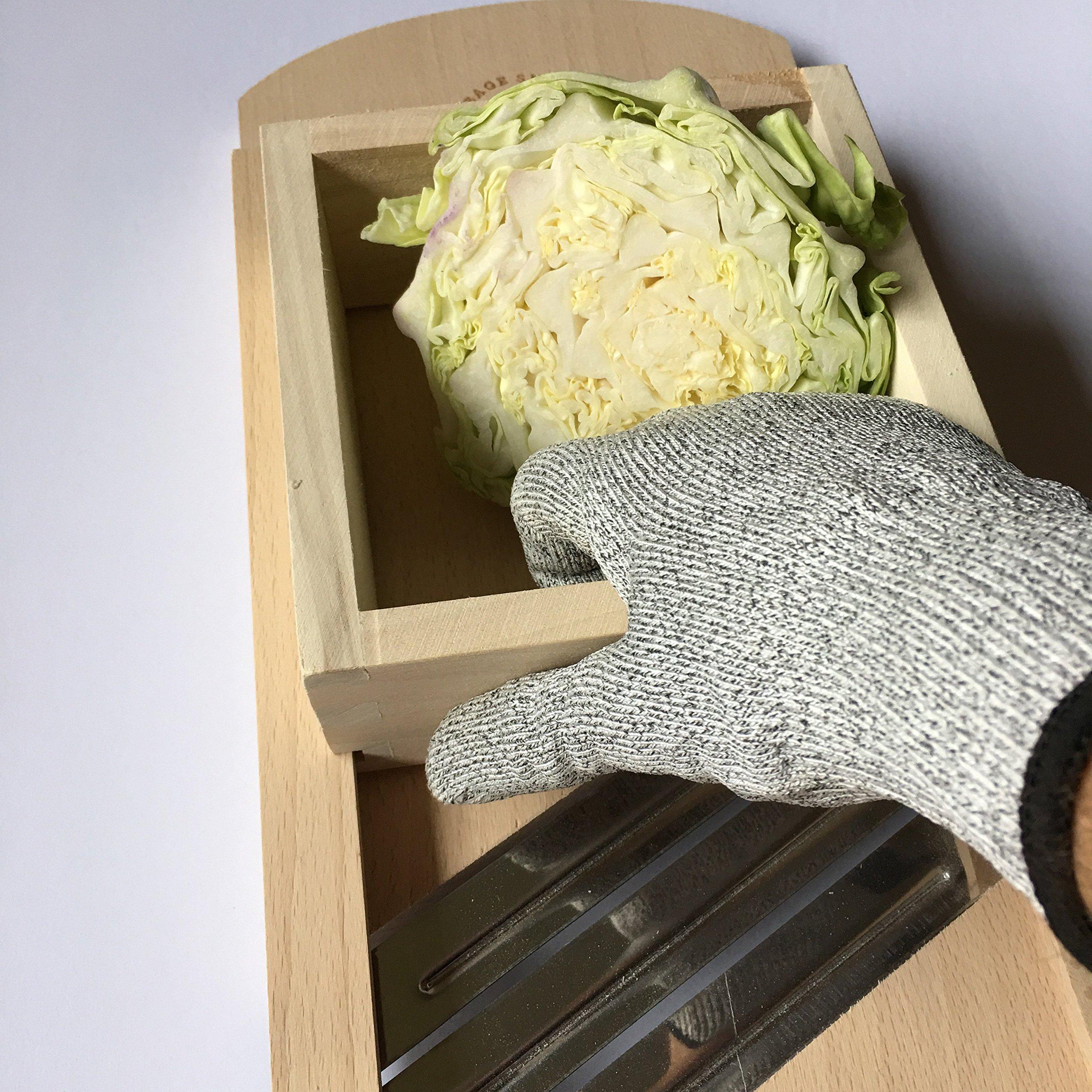 Cabbage Shredder & Slicer for Finely Cut Sauerkraut & Other Vegetables. by CabbageShredder.com (Image #4)
